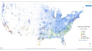 US ethnic map